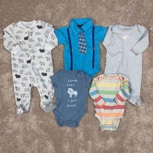 Bundle of Assorted 3-6mo Baby Boy Clothing